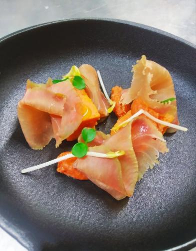 pomodoro e salmone